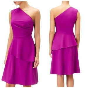 Adrianna Papell | NWT 1 Shoulder Fit & Flare dress